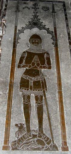 John de Cobham 1354    Grandson of Dame Jone