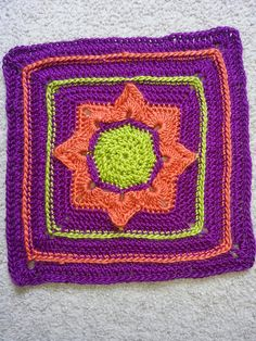 Ravelry: tinafos' Eight Pointed Flower