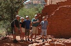 Join us on this once in a lifetime archaeological adventure in Sedona. Extraordinary scenery abounds as you travel through spectacular canyon lands and towering red rock formations. Step back in time as you explore a 700 year old Sinaguan cliff dwelling. Pink Jeep, State Of Arizona, Ancient Ruins, Rock Formations, Tour Operator, Once In A Lifetime, Back In Time, Cliff, Traveling By Yourself