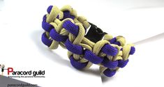 A tutorial on the Serpents river bar paracord bracelet.