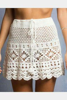 1-9 falda blanca
