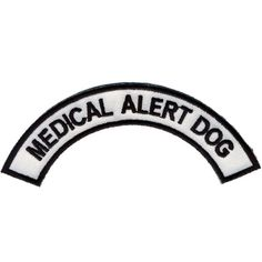 Patch, Medical Alert Dog http://tmiky.com/pinterest