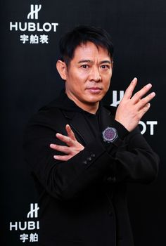 Jet Li prefers a watch of a different type, recently partnering with Hublot to release his own branded watch, The Hublot Big Bang Jet Li watch. The watch is black ceramic and had a limited production run of 200 pieces.