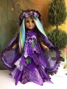 Custom American Girl Doll Woodland Pixie Fairy