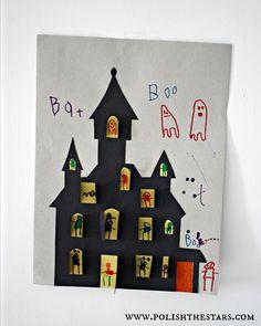 Polish The Stars: Halloween Kids Crafts