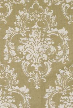 Scalamandre Agios, white on linen, twill weave