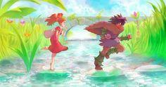 Arrietty & Spiller