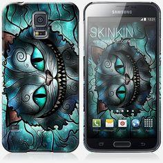 Samsung Galaxy S5 case Mad Cheshire Cat by Mandie by SkinkinUS
