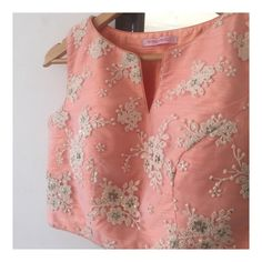 The Vintage Peach Crop Top