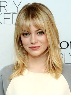 Cute Medium Hairstyles with Bangs Cute Medium Hairstyles with Bangs