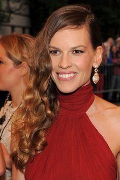 Gala del Met 2012: tendencias belleza Hilary Swank