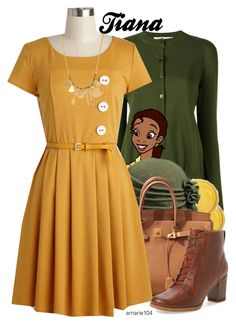 """Tiana"" by amarie104 ❤ liked on Polyvore featuring Marni, Kate Spade, Scala, Hermès, Monserat De Lucca and Timberland"