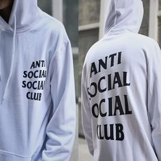 Find More Hoodies & Sweatshirts Information about Fashion street wear Famous Brand ANTI SOCIAL SOCIAL CLUB men Hoodies Sweatshirts kanya west men Hoodies anti social social club,High Quality sweatshirt material,China hat fedora Suppliers, Cheap hat scarf glove set from Moomphya Apparel Flagship Store on Aliexpress.com