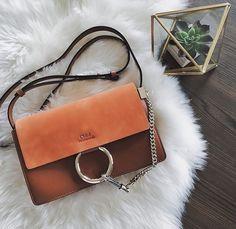 We dream of Chloé bags. Chloe Bag, Faye Bag, Cute Bags, Luxury Bags, My Bags, Fashion Bags, Ootd Fashion, Purses And Handbags, Leather Bag