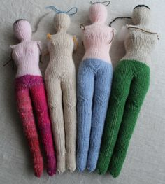 knit doll keito