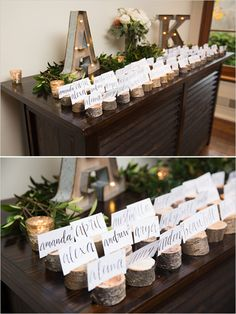 escort card table #escortcards @weddingchicks