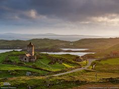 Church of Rodel, Scotland. Photo by Jim Richardson, National Geographic.