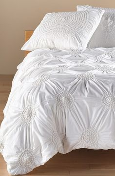 Free shipping and returns on Nordstrom at Home 'Chloe' Duvet Cover at Nordstrom.com. Dreamy cotton voile composes a shabby-chic duvet cover textured with puckered florets for an easy, vintage aesthetic.
