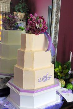 Custom Made White Rectangular Octagon Cake Stand (Custom sizes available) on Etsy, $146.00