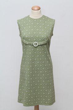 Sommerkjole, jersey 1960. M-L