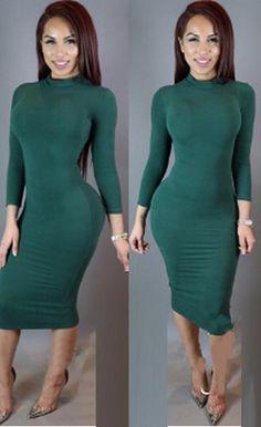 платье длины миди Andrea Marques