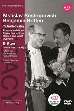 Rostropovich / Britten: Gloriana (extracts) - ica DVD. £24.50