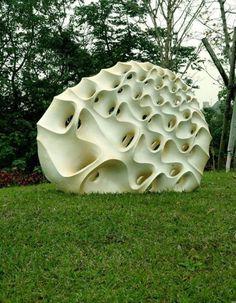 Sculpture by Kurokawa Toru
