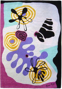 Tapis hommage à Miró (Codimat)