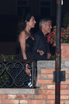 Amal Clooney in Polka-Dot Dress at Venice Film Festival 2017 | POPSUGAR Fashion