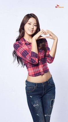 aoa 설현 seolhyun 2016 SK Telecom 화보 k-pop hd Sexy Asian Girls, Beautiful Asian Girls, Kpop Girl Groups, Kpop Girls, Korean Beauty, Asian Beauty, Kim Seolhyun, South Korean Women, Asian Woman