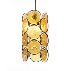 Attributed to Gino Vistosi 1950s Pendant Light