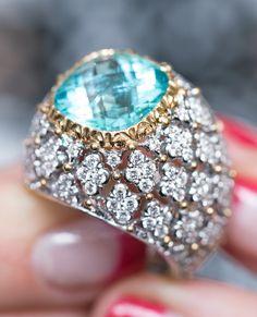 Clear Diamonte//Diamante Silver Tone Large Teardrop Pear Shape Ring NEW!!