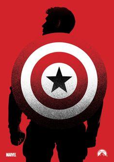 Captain America alternative movie poster