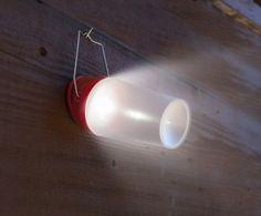 LED Solar Rechargeable Lantern