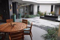 13 Ideas for Landscaping Without Grass | HGTV Modern Landscape Design, Modern Garden Design, Backyard Garden Design, Modern Landscaping, Contemporary Landscape, Landscape Architecture, Landscaping Design, Landscape Pics, Landscape Pavers