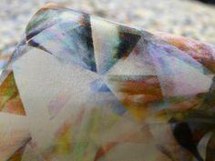 Cracked Glass - Silk - Tessuti Fabrics - Online Fabric Store - Cotton, Linen, Silk, Bridal & more