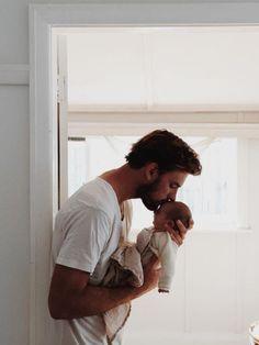 photo papa et bebe - maman vogue