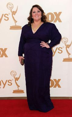 Melissa McCarthy,  from 2011 Emmy awards....I have loved her since Sookie!///she's great!