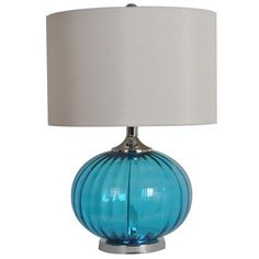 Newport Blue Table Lamp  $119.99 Sku:139925 Dimensions:22H Provide peaceful light with the New Port Blue table lamp! Please visit our website for more information.