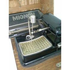 Maquina escribir Aeg Mignon. ¡Maravillosa!