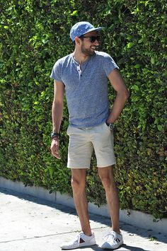 Get this look: http://lb.nu/look/8263733  More looks by Hector Diaz: http://lb.nu/hector_diaz_mtz  Items in this look:  , Topman Stone Shorts, , Michael Kors Watch, , Burberry Shades   #casual #cool #street #chromeindustries #henley #la #lacma #miraclemile #summer