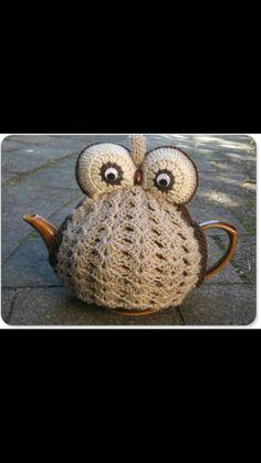 Owl tea kettle
