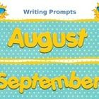 Daily Writing Prompts For August & September ~ A Back To School Writing Unit ~ Perfect unit for Back-To-School Writing Workshop! I use these th...