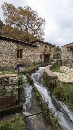 Dimitsana village - Arcadia, Greece