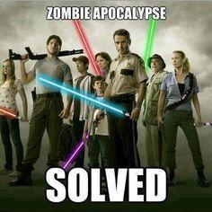 The Zombie Apocalypse is now solved