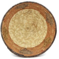Woven Wicker Basket, Primitive Straw Bowl, Round Coil Handwoven... ($54) via Polyvore featuring home, home decor, small item storage, heart shaped bowl, hand woven basket, woven heart basket, heart box and weaved baskets
