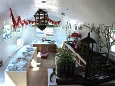 """creative capsule"" airstream art studio"