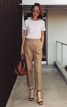 Style Casual, Casual Work Outfits, Mode Outfits, Work Casual, Fashion Outfits, Stylish Outfits, Summer Office Outfits, Outfit Work, Smart Casual Work Outfit Women