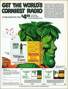 vintage everyday: Green Giant's Vintage Advertisments