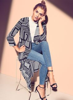Printed trench coat | Gina Tricot Collections | www.ginatricot.com | #ginatricot